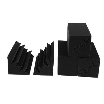 perfk 8 Piezas Paneles de Espuma Acústica a Prueba de Sonido de Color Negro Regalo Único para Hombres,Mujeres, Guitarristas: Amazon.es: Instrumentos ...