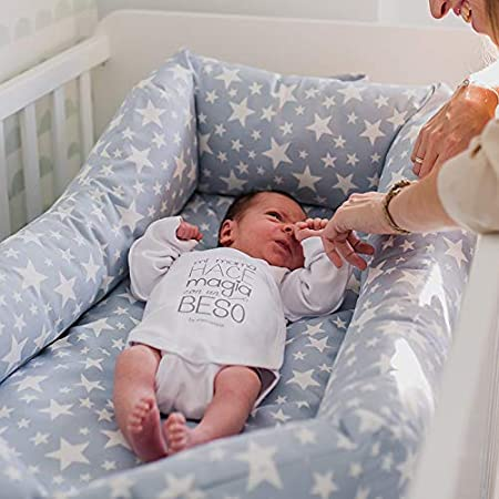 Cuco Nest reductor by Mimuselina | Cama nido bebe (desenfundable y lavable) Babynest para colecho seguro (BLUE PETROL)