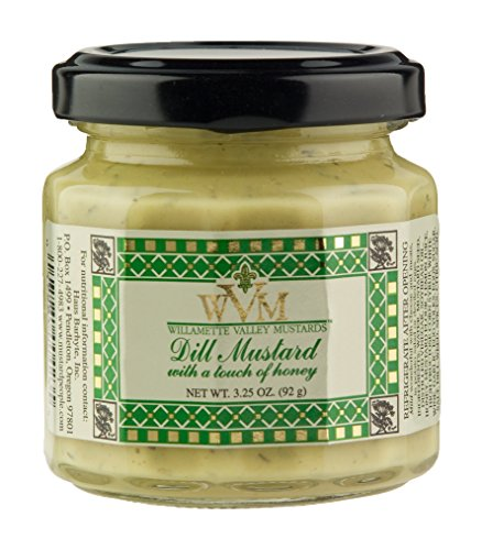 stards, Dill Mustard, 3.25-Ounce Glass (Pack of 12) ()