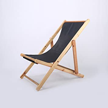 WANGS Silla de Playa Plegable sillas portátiles de Madera ...