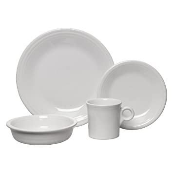 Fiesta 16-Piece Service for 4 Dinnerware Set White  sc 1 st  Amazon.com & Amazon.com | Fiesta 16-Piece Service for 4 Dinnerware Set White ...