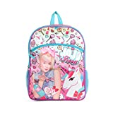 "Nickelodeon JoJo Siwa Pink 16"" Backpack School Essentials Set for Girls"