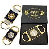 Cuban Crafters Gold Luxury Cigar Cutter