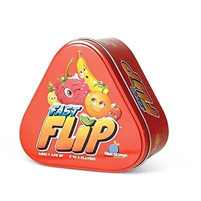 Blue Orange Fast Flip Card Game: Toys & Games