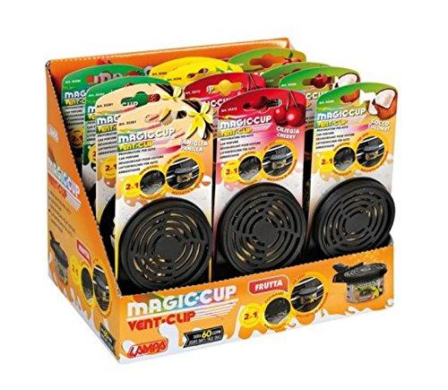 Lampa 35360 Magic Cup Vent Clip gesorteerd fruit, set van 12