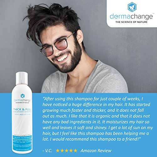 Hair Growth Shampoo Prevent Hair Loss For Women For Men Better Than Dry Shampoo Sulfate Free Manuka Honey Vitamins For Thinning Hair For Dry Hair For Faster Hair Growth Natural And Organic Supplement