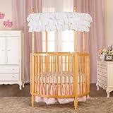 Dream On Me Sophia Posh Circular Crib (Natural)