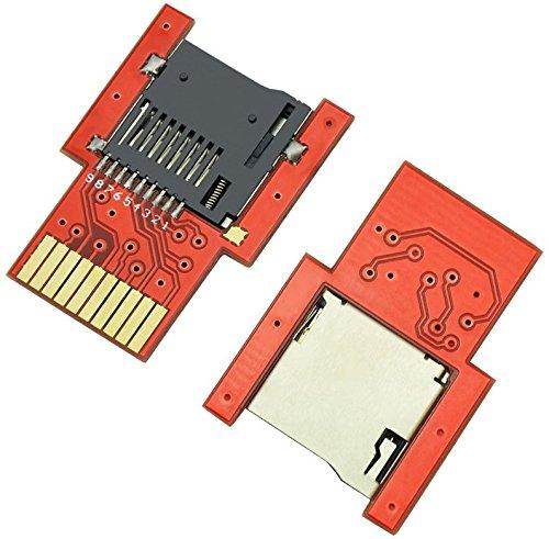 2Pcs/Pack SD2VITA Micro SD Adapter, Controller SD2VITA PSVSD Micro SD Memory Transfer Card Adapter for PS Vita