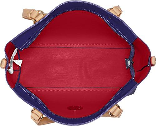 Trussardi 75bp0053, Borsa a spalla Donna 40x29x17 cm (W x H x L) Blu scuro
