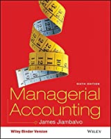 Managerial Accounting, Binder Ready Version, 6th Edition Front Cover