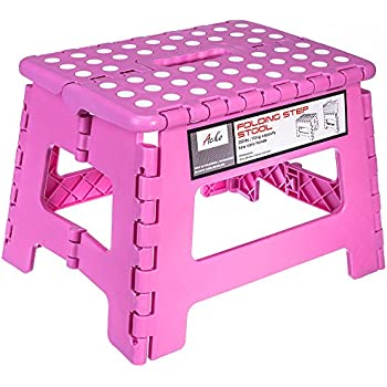 Amazon Com Greenco Super Strong Foldable Step Stool For