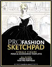 PRO Fashion Sketchpad Accessories Templates product image
