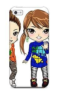 Ryan Knowlton Johnson's Shop 2730905K29678214 Fashion Tpu Case For Iphone 5c- Chibi Defender Case Cover