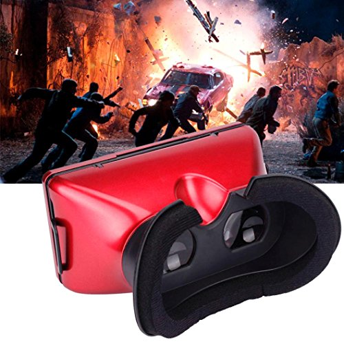Creazy 3D VR Box Glasses Immersive Virtual Reality Google For Samsung note series,Samsung galaxy series,iPhone 6s and other Android/IOS smart phone