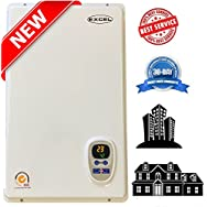 Excel Pro Natural Gas 6.6 GPM Tankless Gas Water HeaterWhole House Hydronic Compare to Rinnai, Rheem ,Noritz,...