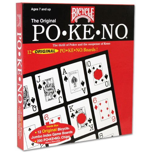Original Po-Ke-No Red Card Game by Bicycle