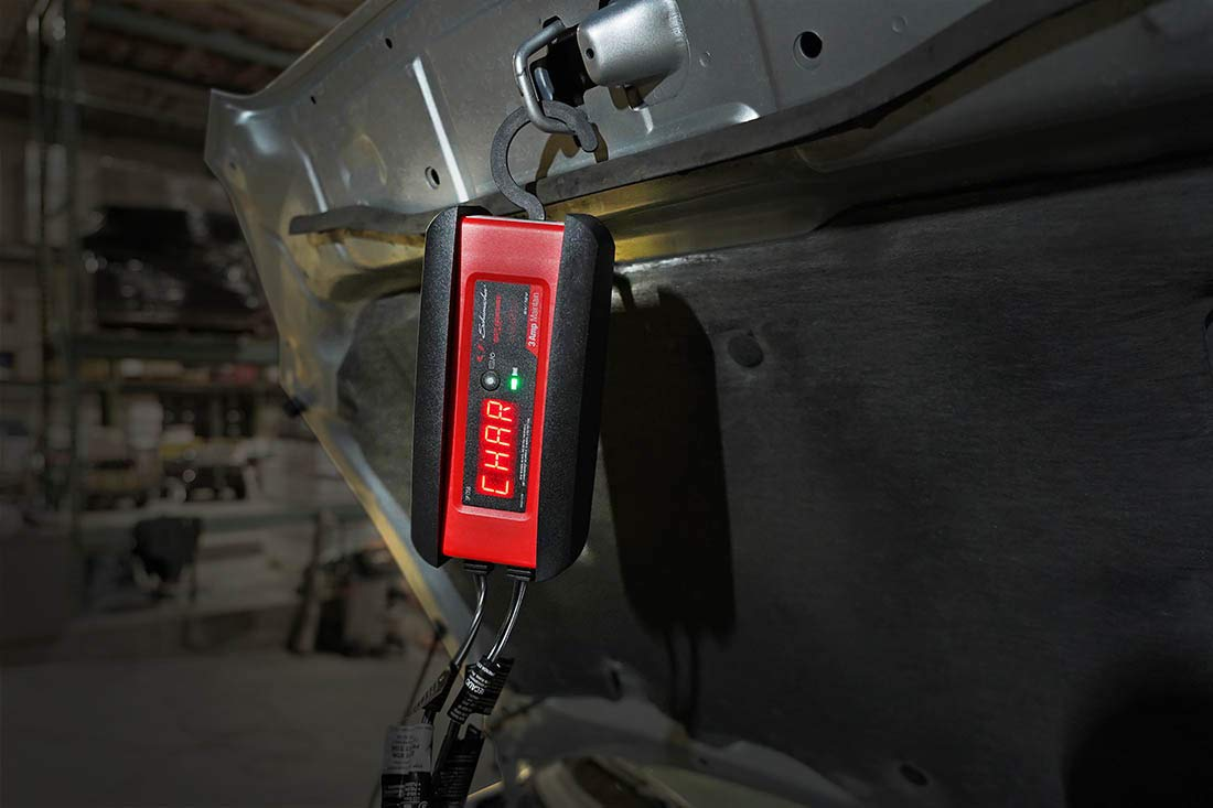 Schumacher SP1356 6/12V Fully Automatic Battery Charger and 3A Maintainer by Schumacher (Image #3)