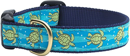 - Up Country Sea Turtle Dog Collar Large (15-21