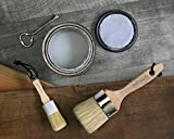 PROFESSIONAL CHALK AND WAX PAINT BRUSH 2PC
