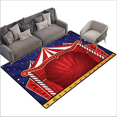Floor Entrance Rug Circus,Canvas Circus Tent 48