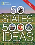Books : 50 States, 5,000 Ideas: Where to Go, When to Go, What to See, What to Do