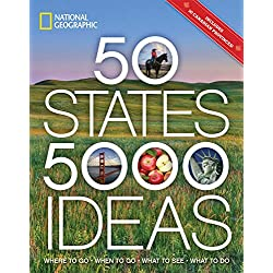 50 States, 5,000 Ideas: Where to Go, When to Go, What to See, What to DoPaperback – Illustrated, February 7, 2017