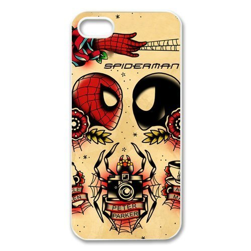 Spiderman Hard Back Case Cover for Iphone 5S/5 Designed By diyphonecasecase Store