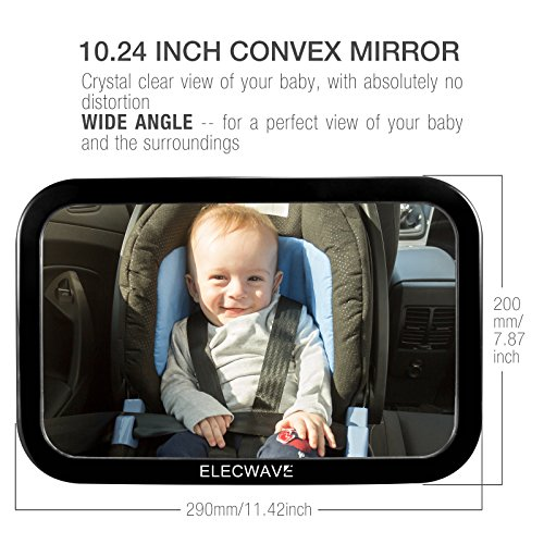 Safest Baby Car Seat Mirror