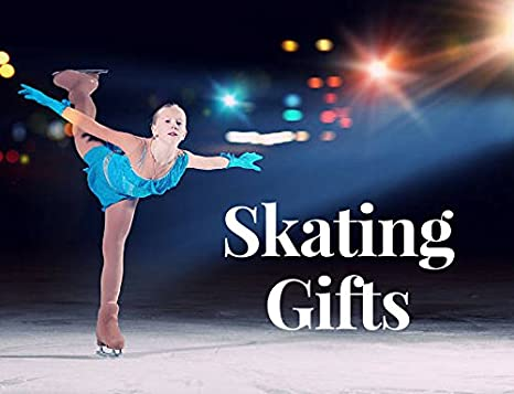 Ice Skating Jewelry She Believed She Could So She Did Skate Charm Key Ring Perfect Figure Skating Gifts Sportybella Figure Skating Keychain