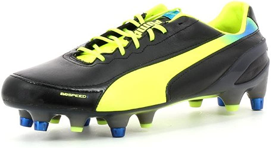 Puma Evospeed 1.2 L Mixed SG Zapatos de fútbol de Cuero
