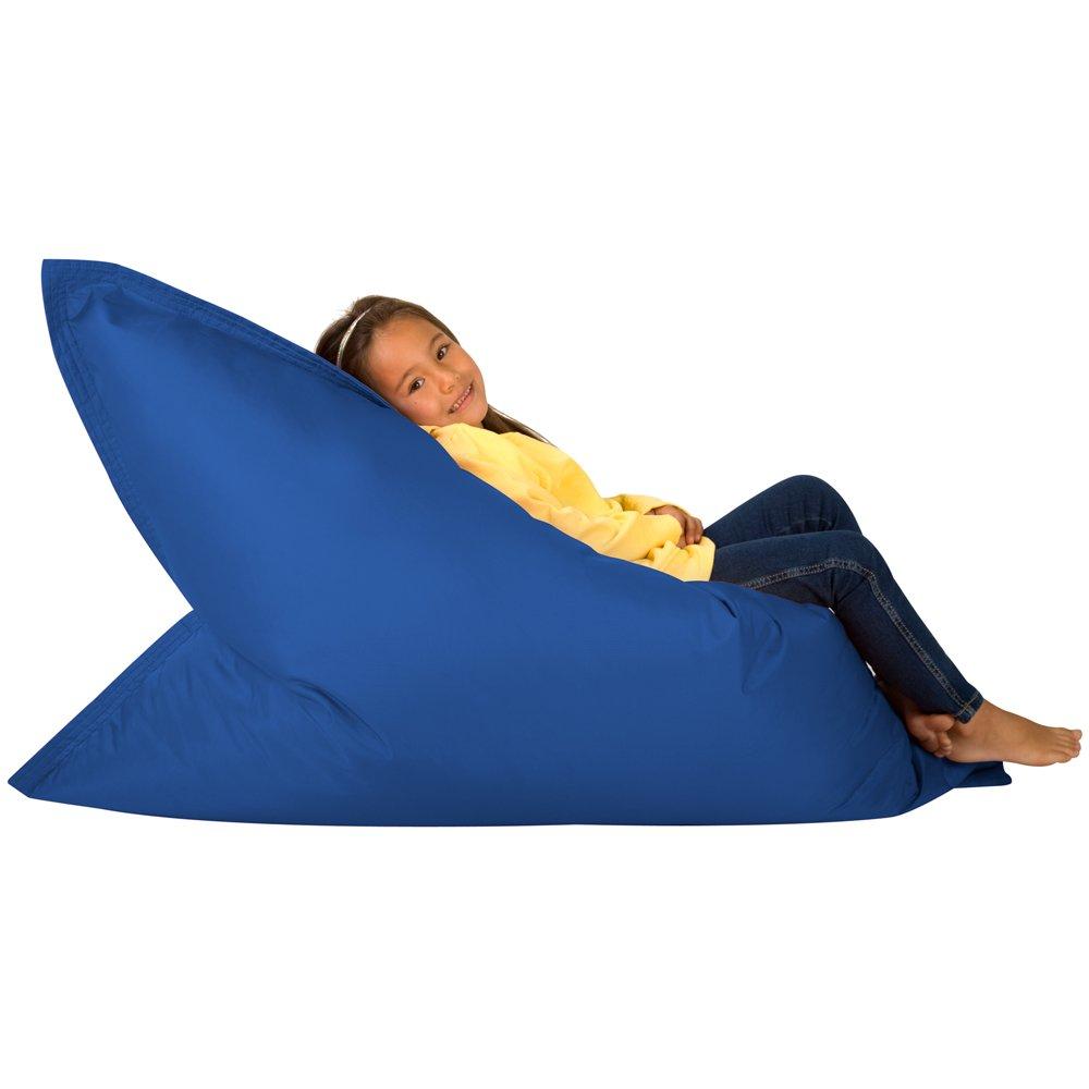 Hi BagZ KIDS Bean Bag 4 Way Lounger   BLUE Bean Bags Outdoor Floor Cushion    100% Water Resistant Childrens Bean Bags: Amazon.co.uk: Garden U0026 Outdoors Part 45