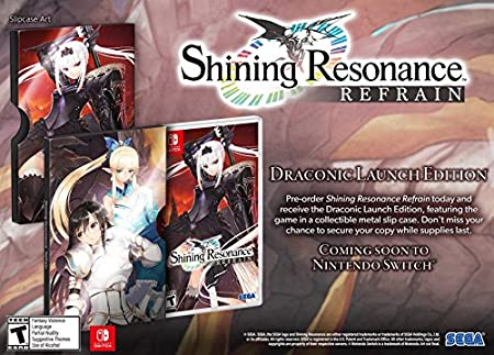 Shining Resonance Refrain - Nintendo Switch Draconic Launch Edition