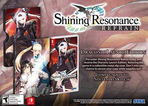 Shining Resonance Refrain - Nintendo Switch Draconic Launch Edition