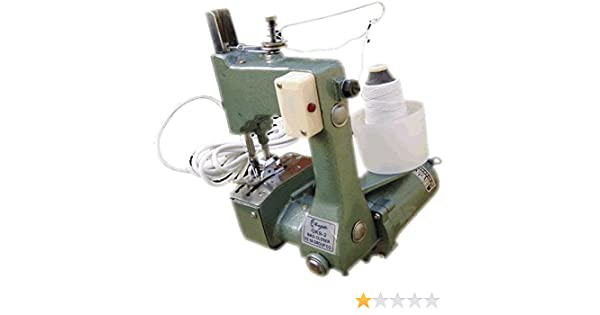 Portátil Saco Máquina de coser saecke naehen verschli comer + 10 agujas + 5000 M Hilo: Amazon.es: Bricolaje y herramientas