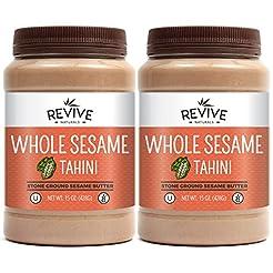 Ethiopian Whole Sesame Tahini, Stone-Gro...