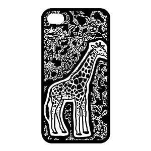 Custom Giraffe Back Case for iphone4,4S JN4S-190