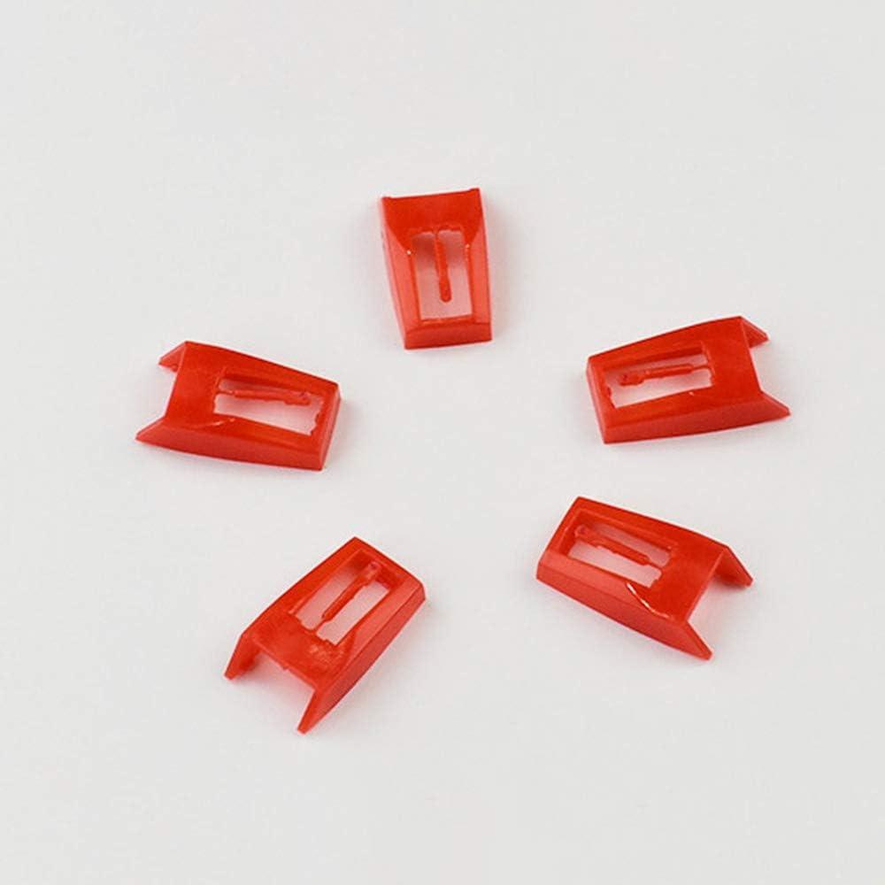 Donpow Aguja de 2 piezas para tocadiscos Aguja giratoria Diamante ...