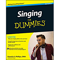 Singing For Dummies book cover