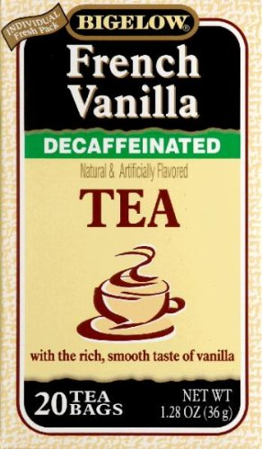 Bigelow Decaf French Vanilla Tea Bags, 20 (Bigelow French Vanilla Tea)