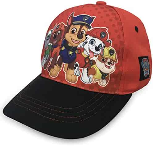 f4a88e9f22bd Nickelodeon Paw Patrol Boys Cotton Baseball Cap, Chase with Friends Age 2-5