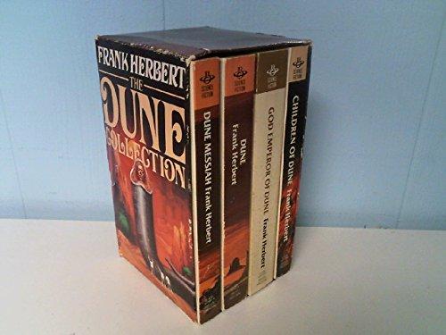 THE Dune Collection  4 vols Boxed  Dune, Dune Messiah, Children of Dune, God Emperor of Dune