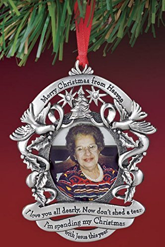 merry christmas from heaven photo ornament