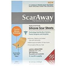 Scar Away Silicone Scar Sheets 1.5x3 (8)