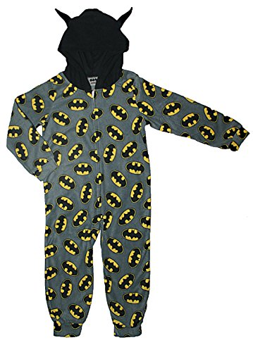 Batman Piece Sleeper Fleece Pajama