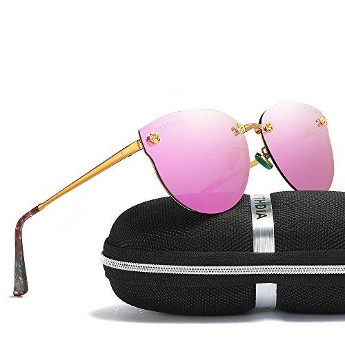 KITHDIA Polarized Sunglasses Women Brand Designer UV400 Women Retro Sun - Eyewear X Brand