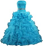 Product review for ANTS Women's Crystal Belt Special Occasions Sweet 15 Dresses