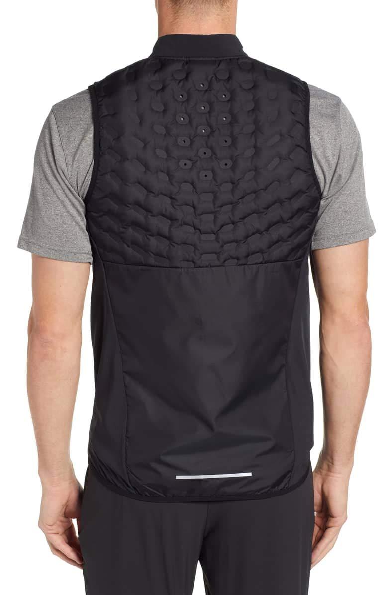 Nike Aeroloft Mens Running Vest (Large) Black