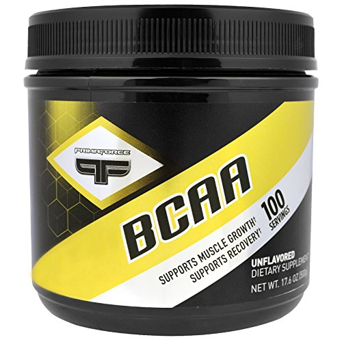 Primaforce, BCAA, Unflavored, 17.6 oz (500 g) - 3PC by PrimaFroce