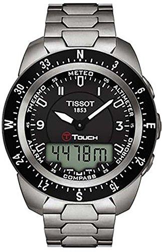 Titanium Chronograph Alarm 100m Watch - 7