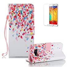 For Samsung Galaxy S8 Plus Case [with Free Screen Protector], Funyye Elegant Premium Folio PU Leather Wallet Magnetic Flip Cover with [Wrist Strap] and [Credit Card Holders Slots] Fashion Designs Full Protection Holster Case Cover Skin Shell for Samsung Galaxy S8 Plus-Flower vine rain